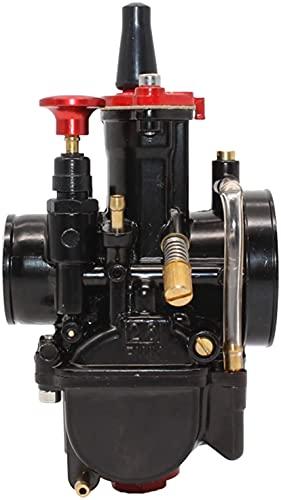 21 24 26 28 30 32 34 mm universal, apto para - Mikuni Maikuni PWK/piezas de carburador Scooters para 2T 4T con Power Jet motocicleta ATV carburador reemplaza (color: 24 mm)