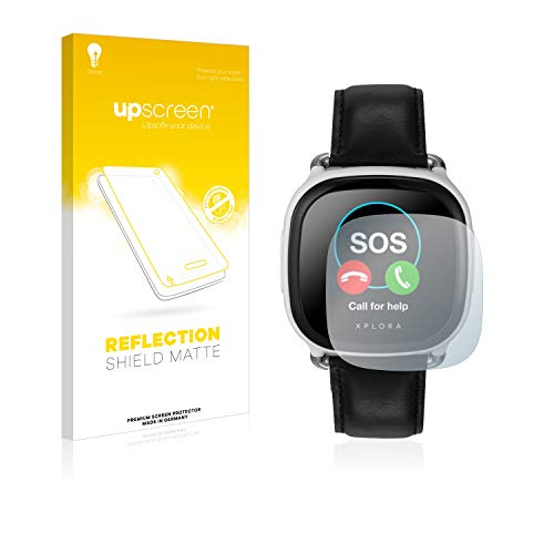 upscreen Entspiegelungs-Schutzfolie kompatibel mit Xplora Care – Anti-Reflex Bildschirmschutz-Folie Matt