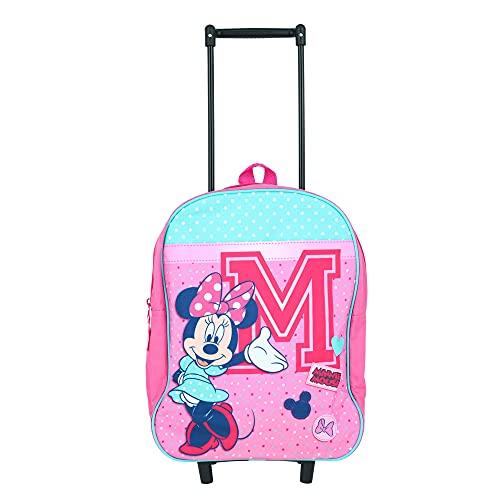 Disney Minnie Mouse Valise à roulettes pour Enfants -...