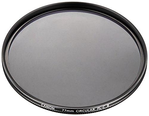 Canon PL-C B 77mm Filtro polarizador Lente para Adaptarse a Cualquier Lente con una Rosca de 77mm