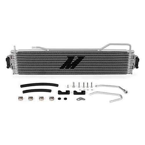 Mishimoto MMTC-K2-14 Getriebekühler, kompatibel mit Chevrolet Silverado 2014-2018, Silber