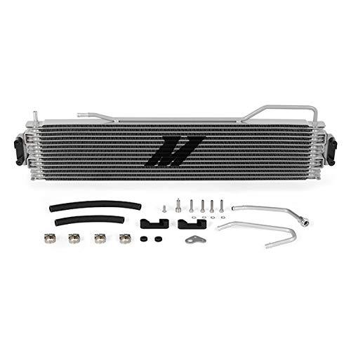 Mishimoto MMTC-K2-14 Transmission Cooler Compatible With Chevrolet Silverado 2014-2018 Silver