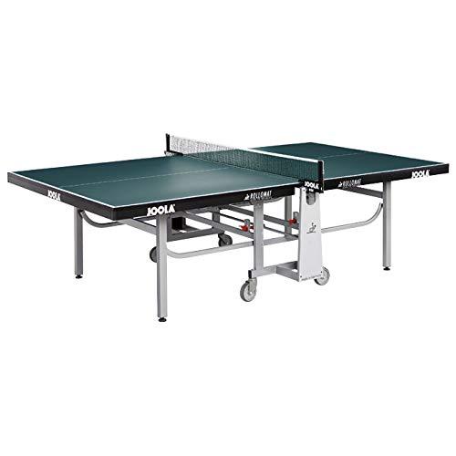 JOOLA Unisex– Erwachsene Rollomat Tischtennisplatte, Grün, 274х152,5х76