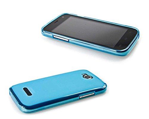 caseroxx TPU-Hülle für Mobistel Cynus F4, Handy Hülle Tasche (TPU-Hülle in hellblau)