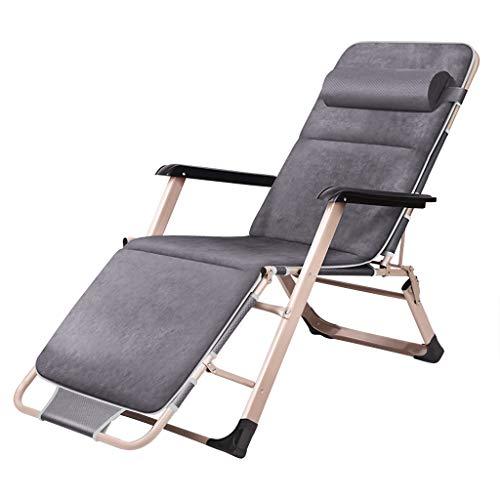 Schwerelosigkeit Recliner Gartenstuhl Unterstützung 130kg Durchmesser 40mm Dickes Stahlrohr kann Außenterrassenlehne entspannen