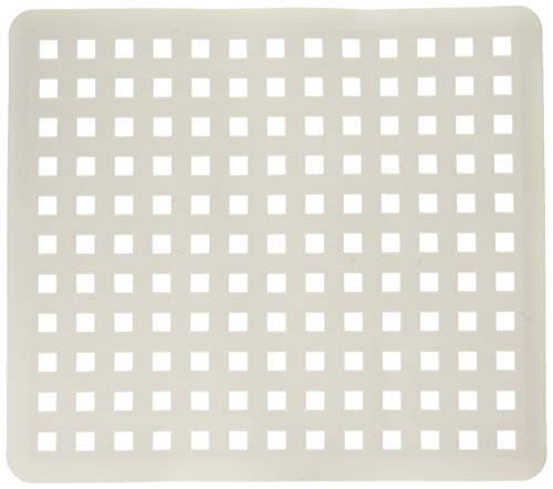 iDesign InterDesign Euro Kitchen Protector Regular, White, Sink Mat