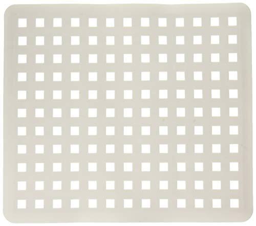 InterDesign 36601 Regular White Euro Kitchen Sink Protector Mat