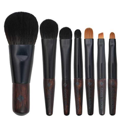 LHY- 7 Paquet Maquillage Portable Pinceau Souple Mini Pinceau Petit Pinceau Outils Professionnels Beauté Mode