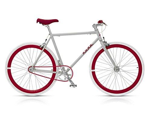 MBM Nuda, Bicicletta Minimale Uomo, Rosso A20, 56