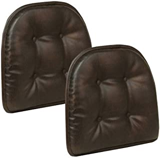 Best brown leather chair cushion Reviews