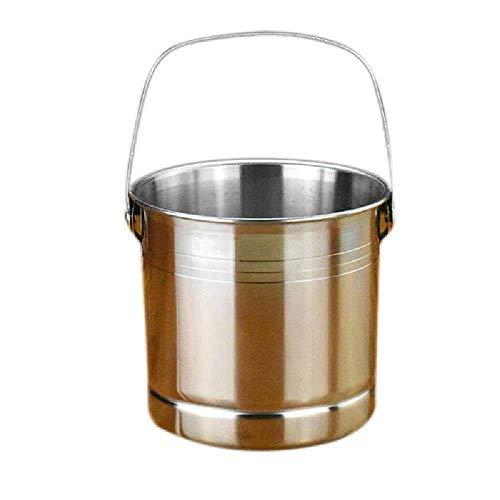 Cubo de Hielo Grande Cubo de Acero Inoxidable Cubo de Hielo para Vino Accesorio de Barra en Miniatura Aislado al por Mayor