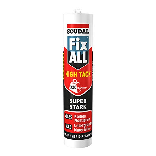 Soudal Montagekleber Fix ALL High Tack schwarz 420 g/290 ml
