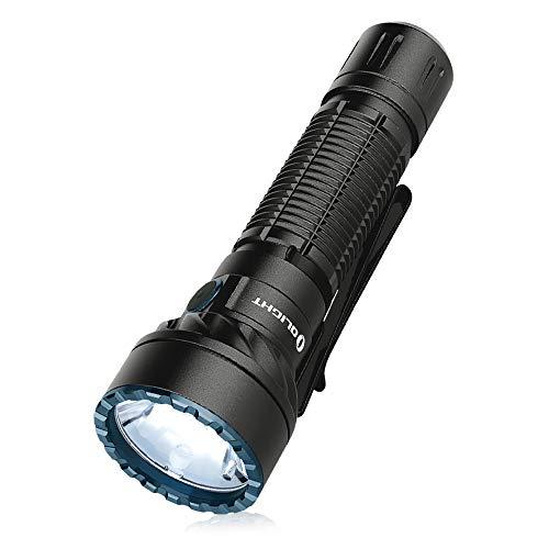 OLIGHT Freyr Linterna Colores Linterna Táctica Militar, con Batería 5000mAh, IPX8, 1750 Lúmenes, 360 Metros, Linterna Potente Linterna Práctica para Advertencia Nocturna, Protección de Visión Nocturna