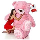 AVS Teddy Bear Toy (7 Feet, Pink)