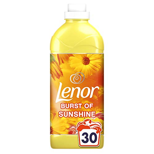 Lenor Fabric Conditioner, Washing Liquid Laundry Detergent, 30 Washes, 1.05 L, Burst of Sunshine