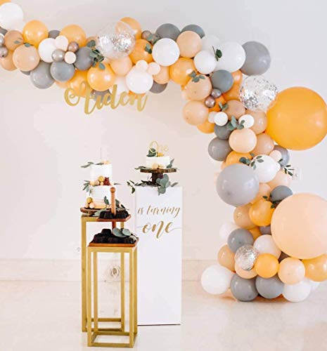 Maca Champagne Balloon, Balloon Garland Arch Set, Used For Birthday Party, Baby Shower Decoration For Boys And Girls, Wedding, Engagement, Anniversary Baptism, Party Balloon Decoration