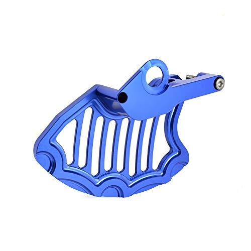 Gzcfesbn Freno de Disco Delantero Protector for Husqvarna TE FE FC TC FX TX 350 450 125 250 300 400 501 2016 2017 2018 2019 2020 Eje 22mm Durable (Color : Blue)