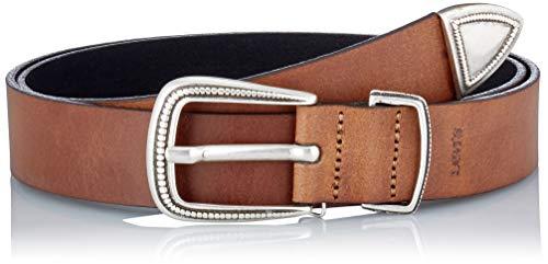 Levi's Femme Western Belt Cintura, Marrone Scuro, 70 cm Donna