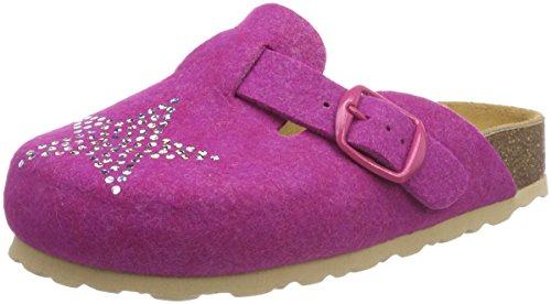 Lico BIOLINE CLOG STAR Unisex Kinder Clogs, Pink, 29 EU