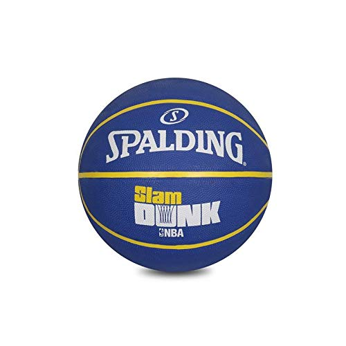 Check Out This Spalding BB NBA-Slamdunk Basketball, Black & Blue (Size 6 Blue)