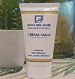 Crema Mani Doni del Mare| 75ml | Naturale|Riparatrice Nutriente e Protettiva| Con Alga Spirulina Rigenerante|