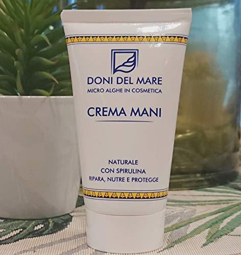 Crema Mani Doni del Mare  75ml   Naturale Riparatrice Nutriente e Protettiva  Con Alga Spirulina...