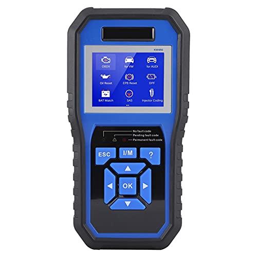 Herramienta de diagnóstico OBD2, sistema completo, detector de fallas de coche, lector de código, escáner de diagnóstico de coche profesional, apto para Skoda(110v)