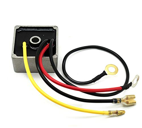 1027101-01 Voltage Rectifier Fit 1992-2007 DS Carryall Club Car Replace 1027101-01 1027112-01 1015777 Stens 435-199 Gas Golf Cart