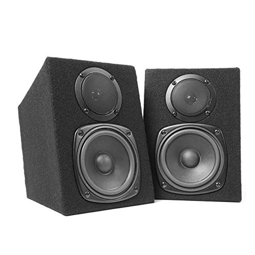 Fenton Pair 2-Way Passive Home DJ MC Studio Monitor Speakers 8 Ohm 2x100W...