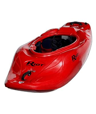 Astro 58 Riot Kayaks Red 6ft Whitewater Playboating Kayak