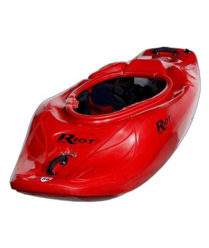 Riot Kayaks Astro 58 Whitewater Playboating Kayak (Red,...