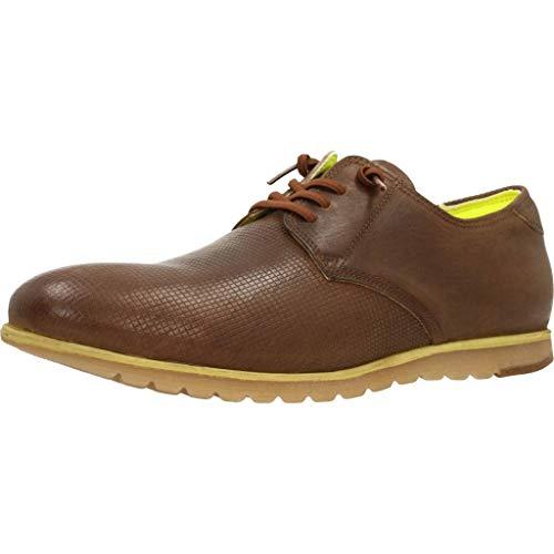 CETTI C-909, Zapatos de Cordones, Color Cuero, para Hombres