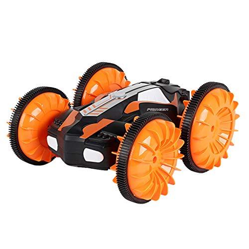 NIUQY Hohe effizienz Luxus LH-C013 2,4 GHz 4WD wasserdichtes Double Side Amphibious RC Stunt-Auto 360 ° -Drehung Intelligentes Gerät Spielzeug Geschenk