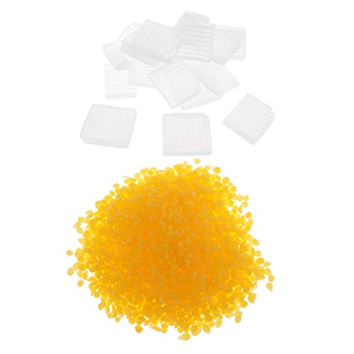 Baoblaze 1 Kg Bijenwas Pellets Kralen voor DIY Lippenstift Lippenbalsem Cosmetische Crème