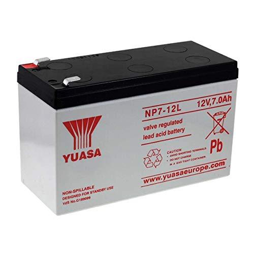 YUASA de Batería Plomo NP7-12L Vds compatible con CSB GP1270 F2