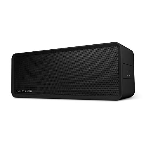 Energy Sistem Music Box 9 -UK versie (Bluetooth, True Wireless Stereo, Manos libres, 40W, USB, microSD, Radio FM, entrada de Audio) - Negro