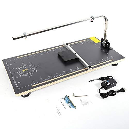 Schneidemaschine HaroldDol Styroporschneidegerät Styroporschneider Heißdrahtschneider Thermosäge Styropor Cutter, Temperatur einstellbar: 50-300 ℃