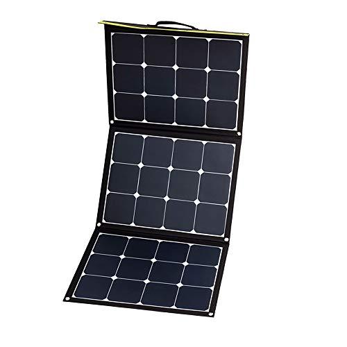 WATTSTUNDE Sunfolder Solartasche - Mobiles 12V Outdoor Solarpanel - faltbares Solarmodul ohne Laderegler (120W)