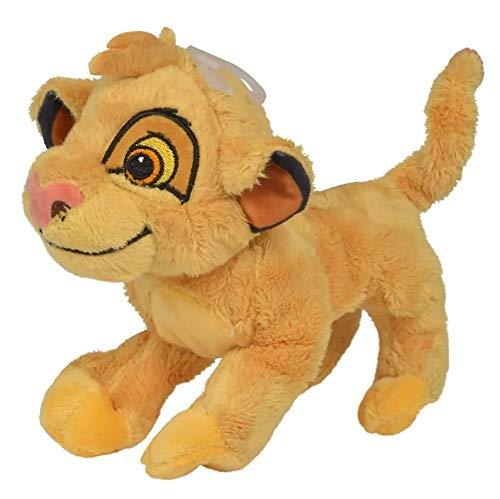 HOFF Peluche Disney Le Roi Lion : Simba 19 cm - Doudou Licence Enfant - Animaux