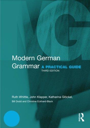 Modern German Grammar (Routledge Modern Grammars)