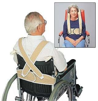 Posey Torso Support For Geriatric Chair