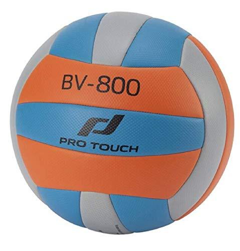 Pro Touch Bv-800 Beachvolleyball, Blue/ORANGE/Grey LIG, 5