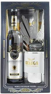 Beluga Noble Russian Vodka Gift Set Mariinsk Destillery, Russischer Edelwodka in exklusiver Ausstattung