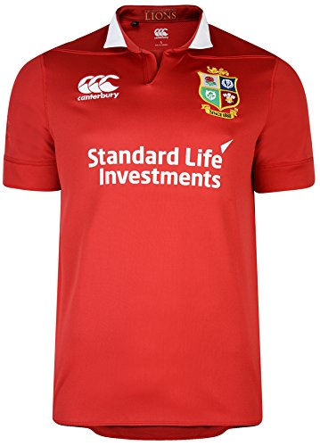 Canterbury Camiseta Profesional de Juego para Mujeres British and Irish Lions, VapoShield.