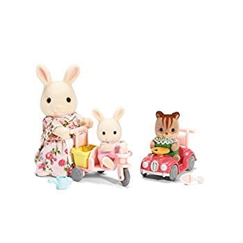 Calico Critters Apple & Jake s Ride n Play