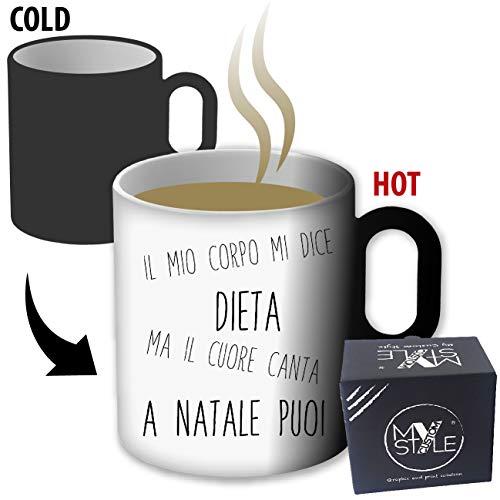 My Custom Style Tazza Magica termosensibile#Natale-Humor3#325ml