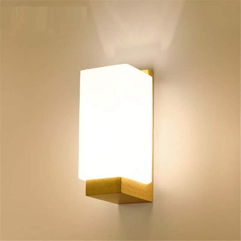 Wandbeleuchtung,Wohnzimmer-Gang-Treppenhausbalkon-Wandlampe Der Kreativen Schlafzimmernachtwand-Wand Moderne, Minimalistische, Dreifarbiges Licht