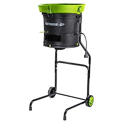 Earthwise Garden Corded Electric Chipper/Shredder, Collection Bin