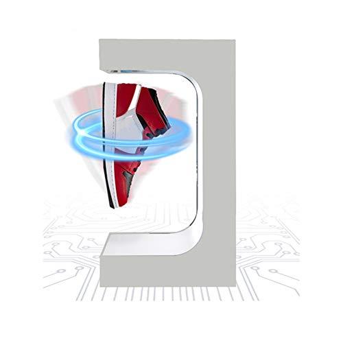 Kreativ Schuhregal Organizer Magnetschwebetechnik Anzeige Schwimmende Rotation Schuhständer Hält 500g Schwebespalt 25mm