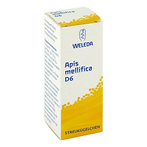 Weleda Apis mellifica D6, 10 g Globuli